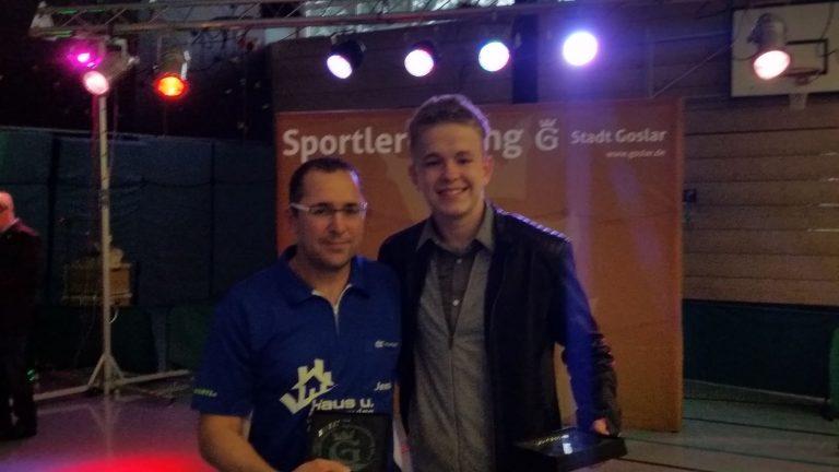 Jens Peters holt Niedersachsenmeisterschaft im Doppel