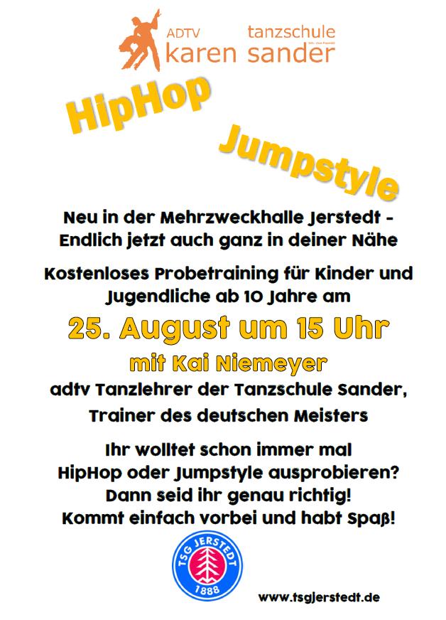 Hip-Hop und Jumpstyle