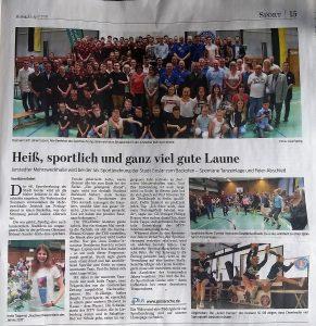 Read more about the article heiß, sportlich und ganz viel gute laune