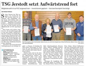 Read more about the article GZ vom 16.03.2019