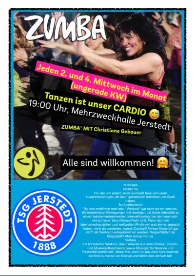 NEU ab 2020 :Power Fitness Kurs jeden Mittwoch von 19 – 20 Uhr in der Mehrzweckhalle Jerstedt!
